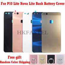 HKFASTEL New Back cover For Huawei P10 Lite