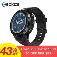 Zeblaze Тор 4 плюс флагман г LTE SmartWatch телефон Android 7,1 MTK6739 QuadCore 1 Гб + 16 5.0MP 580 мАч gps Smat часы для мужчин женщин