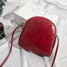 Bolsa de hombro para las mujeres 2019 de moda Vintage sólido, bolsas de mensajero para mujeres, chicas señoras bolso bolsas Casual bolsos de lujo mujer