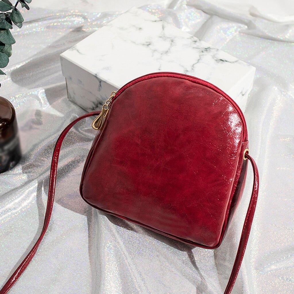 Shoulder Bag For Women 2019 Fashion Vintage Solid Women Messenger Bags Girls Ladies Crossbody Bags Casual Luxury Handbags Mujer