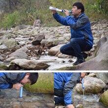 Новый открытый очиститель воды Кемпинг Туризм аварийный, спасательный портативный очиститель воды фильтр