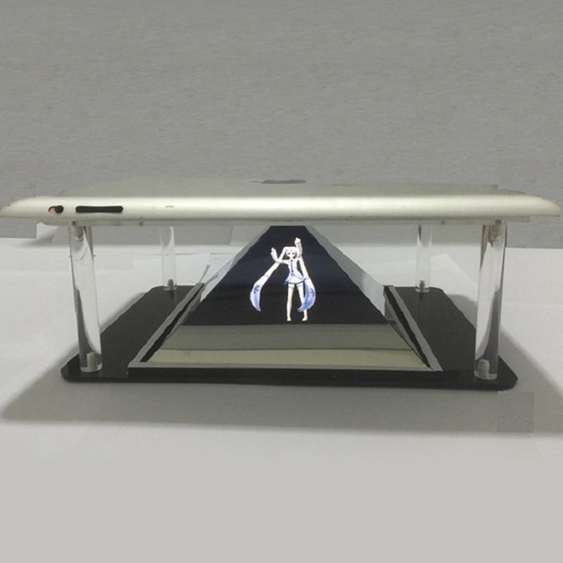Tableta Holografike PC 3D Piramida e Projektit Holografik DIY për - Audio dhe video në shtëpi - Foto 2
