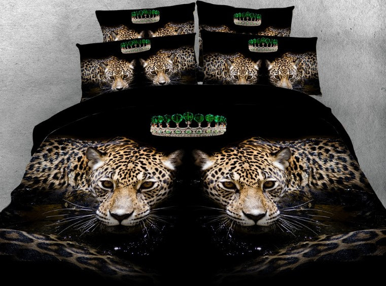 335 leopard bedding