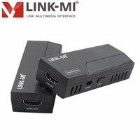 LINK MI LM WHD03 30 м Лос 60 ГГц Wi Fi беспроводной HD видео Трансмиссия НУМ левой задержкой HDMI приемник передатчик