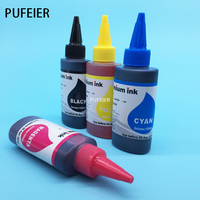 High Quality 100ML X 4PCS LC121 Printer Dye Based Ink For Brother DCP J132W DCP J152W