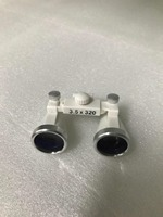 1pc Lens Of Dental Loupe With Optional Working Distance And Magnification For Dentists