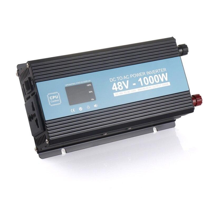 1000W Modified sine wave Inverter Home Power Failure Emergency DC 48V 60V 72V To AC 220V