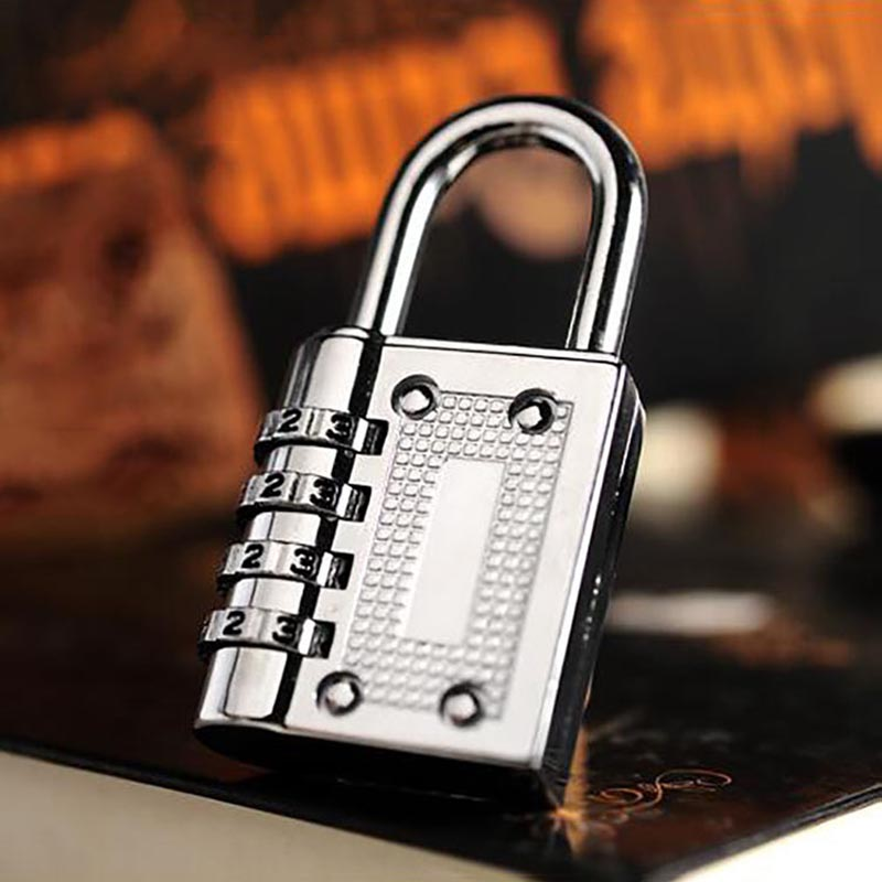 3 Digit Dial Combination Code Number Lock Padlock for Luggage Backpack Suitcase Drawer CLH@8