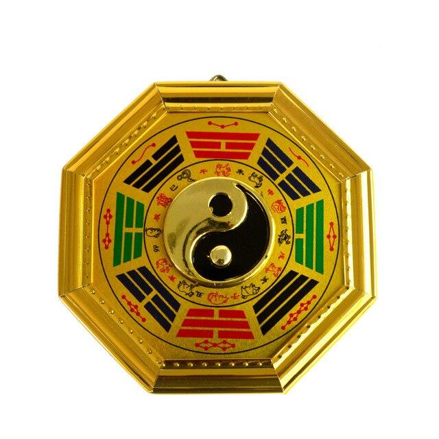 Spiegel Feng Shui feng shui golden edge geschilderd chi spiegel bagua tool j2334