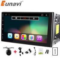 Eunavi Quad Core 7 Inch 2 Din Android 6 0 Car Radio Autoradio Player 2din GPS