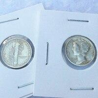90 Silver Mercury Head Dimes 1924 S Dates Nice Quality Coins Retail WholeSale