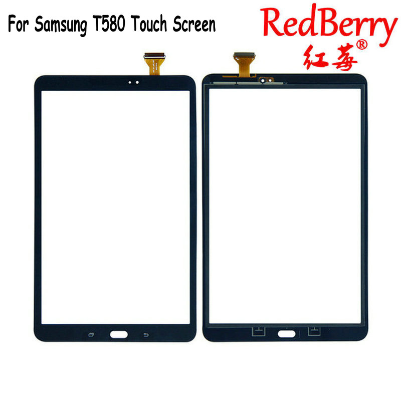 For Samsung Galaxy Tab A 10.1 SM-T580N T580 Touch Screen Glass Digitizer Tablet Touch Sensor panel Replacement Free Shipping for samsung galaxy tab 4 t530 t531 t535 10 1touch panel touch screen digitizer glass panels free shipping