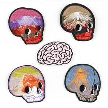 The Beautiful Head Embroidery Patch for Clothing Iron On Embroidered Sew Fabric Badge Garment DIY Apparel Accessories