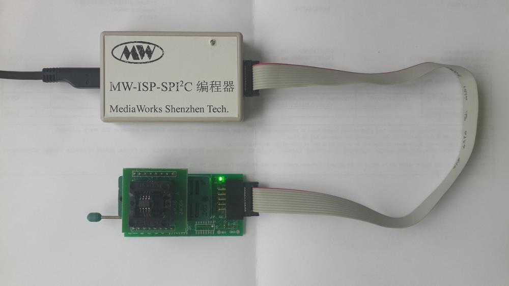 High speed USB recorder (SPI/IIC) high speed usb recorder spi iic spiflash burner eeprom writer
