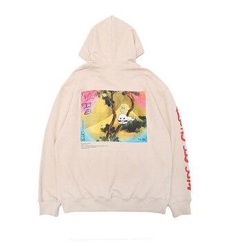 Kanye West KIDS SEE GHOSTS Hoodie Men Women Pullover Sweatshirts Hip Hip Hoodies лол блинг
