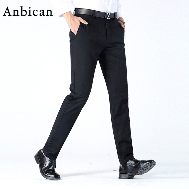 03e7d6a8de30a Barbican moda invierno mens chino Pantalones nuevo casual elegante slim fit Hombre  Pantalones recta larga Pantalones