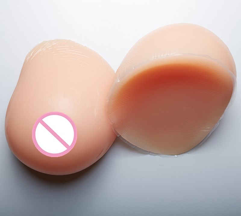 Realistic Silicone Breast Forms 5000g/pair Artificial Breast Left Right Rubber BoobsFor Crossdresser Drag Queen