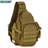Men Chest Bag Tactics Nylon Chest Pack Big Crossbody Sling Travel Men Shoulder Messenger Bags Outdoors