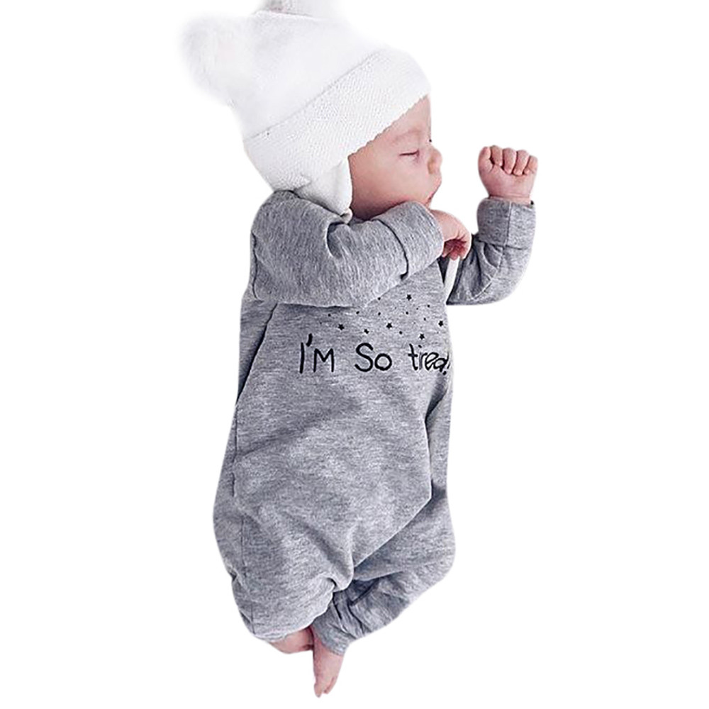 fe9d3f124577 Detail Feedback Questions about MUQGEW Spring Autumn Newborn infant romper  Baby Boy Girl Letter Romper Jumpsuit Playsuit Outfits cute baby clothes ...