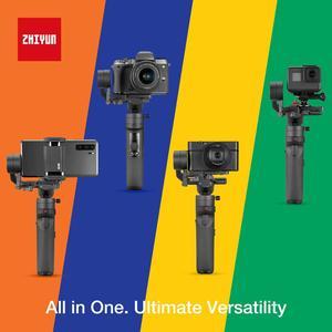 Image 2 - Zhiyun Crane M2 3 Trục Gimbal Bộ Ổn Định Cho Máy Ảnh Mirrorless Camera Điện Thoại Thông Minh, Hành Động Cam, nhanh Chóng Tắt/Mở, 360 ° Xoay