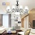 Led e14 Скандинавское железное стекло хромированная Светодиодная лампа светодиодные подвесные светильники  Подвесная лампа LED подвесной свет...