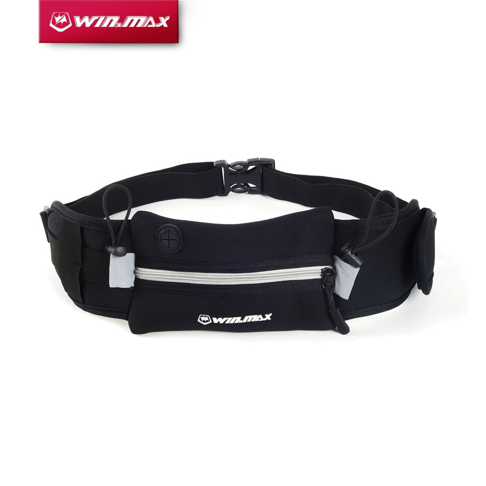 WINMAX New Outdoor Sports Men Women Close-fit Running Pinggang Pinggang Berbasikal Neoprene Running Belt Running Bag