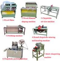 Odun çubuklarını yapma makinesi/Ahşap çubuk ürün hattı