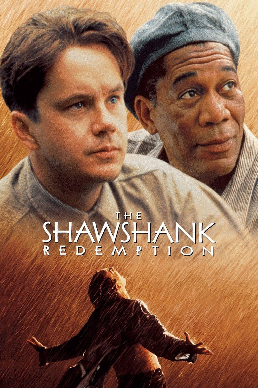 The Shawshank Redemption Retro Vintage Classic Movie Poster Canvas ...