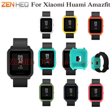 Colorful Frame Soft Case Cover for Xiaomi Amazfit Bip BIT PACE Lite Youth Watch Protect Shell For Xiaomi Huami Amazfit Watch watch frame amazfit bip youth smart watch protector case slim colorful frame pc case cover protect shell for xiaomi huami