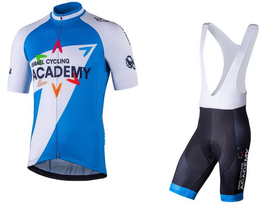 2018 Israel Cycling Academy Team Men s Cycling Jersey Short Sleeve Bicycle  Clothing With Bib Shorts Riding f5d3bd975