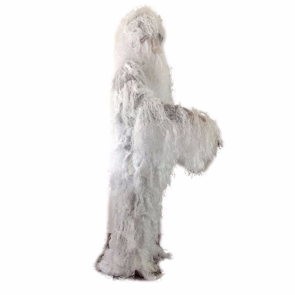 white ghillie suit