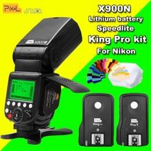 Pixel X900N X900 TTL 2 4G HSS Wireless S1 S2 Lithium Battery Flash Speedlite King Pro