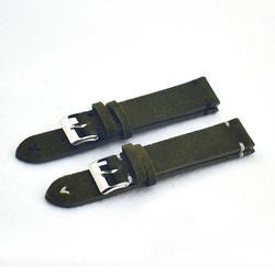 Зеленый ремешок для часов Ремешок для часов замша кожа для мужчин для женщин натуральная 18 мм 20 мм 22 мм заменить для мужчин t часы ремень KZSD07