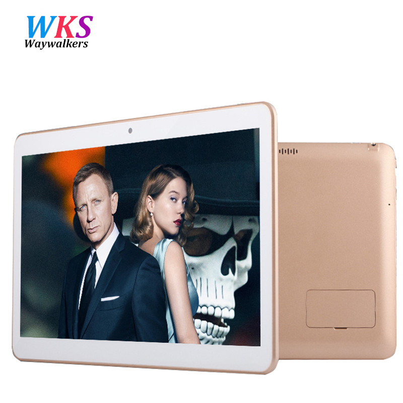Waywalkers 10 6 inch Tablet PC Octa Core Ram 4GB Rom 64GB Android 5 1 IPS