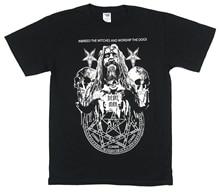 Rob Zombie Devil Man 2011 Tour Black T Shirt New Official Pentagram цена