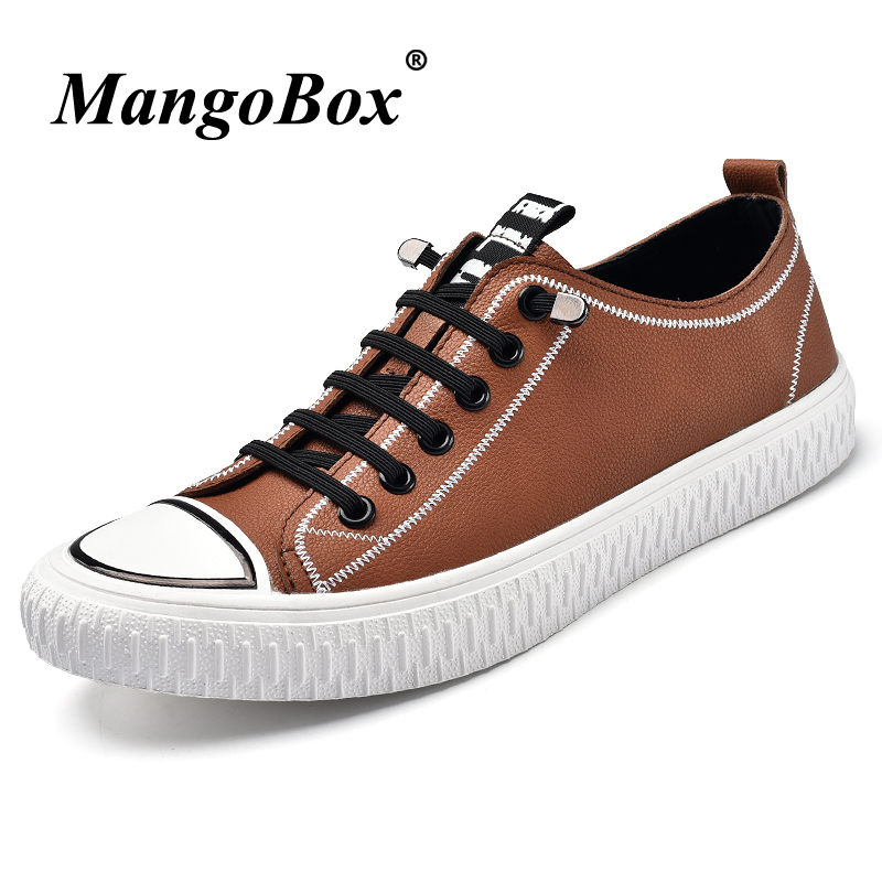 Casual Shoes For Youth Casual Sneakers Men Brown Mens Fashion Shoes Brand Male Casual Footwear Designer Mens Pu Leather Shoes blaibilton brand winter warm velvet high top men casual shoes luxury genuine leather male footwear fashion designer mens sd3599
