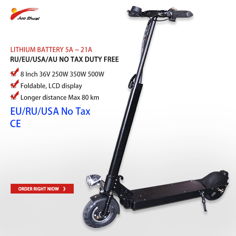 36V 250W-500W Electric Scooter Lithium Battery 8 inch Motor Wheel Adult kick e scooter No tax folding patinete electrico adulto36V 250W-500W Electric Scooter Lithium Battery 8 inch Motor Wheel Adult kick e scooter No tax folding patinete electrico adulto