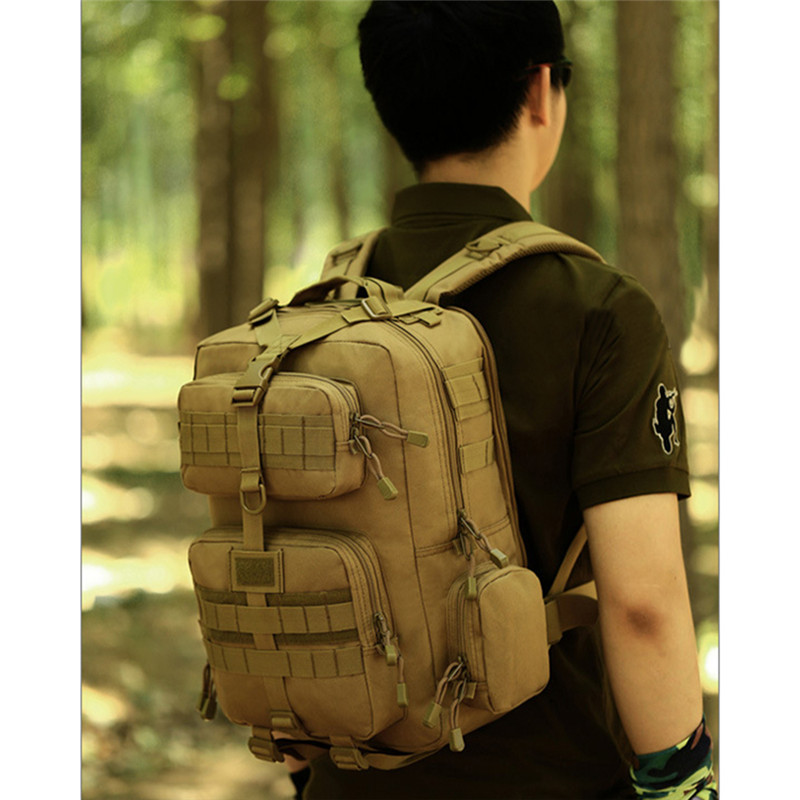 30L Tactical Molle Assault Backpack Airsoft Military Waterproof Rucksack Outdoor Hiking Hunting Travel Bag Storage Pack nylon tactical military backpack rucksack bags assault pack daypack waterproof hiking camping outdoor sport travel trekking bag