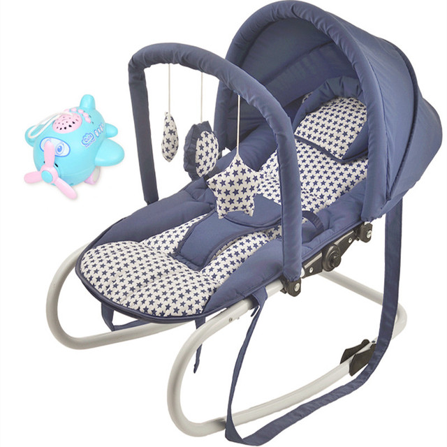 Presente 6 in1 Bebê cadeira de balanço cadeira de balanço cadeira de balanço cadeira de bebé berço calmante para dormir artefato