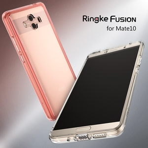 Image 5 - Ringke Fusion Voor Huawei Mate 10 Case Clear Pc Back Cover Soft Tpu Frame Hybrid