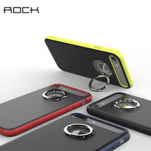ROCK M2 Ring Holder Case For iPhone 7 / 7 Plus Luxury TPU+PC Stand Phone Case Cover For Apple iPhone 7 Plus чехол rock tpu pc guard series для iphone 7 plus 5 5