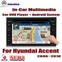 For Hyundai Accent 2006~2010 Car Android Player DVD GPS Navigation System HD Screen Radio Stereo Integrated Multimedia