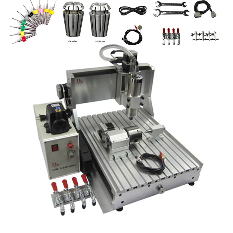 USB / Parallel port 1500W CNC 3040 Router Engraver 1.5KW CNC Spindle Ball Screw CNC Milling Machine for Metal WoodworkingUSB / Parallel port 1500W CNC 3040 Router Engraver 1.5KW CNC Spindle Ball Screw CNC Milling Machine for Metal Woodworking