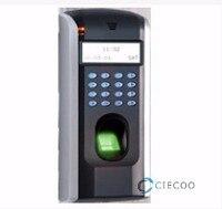 Отпечатков пальцев F7 Биометрические Пособия по немецкому языку язык машина для двери Система контроля доступа