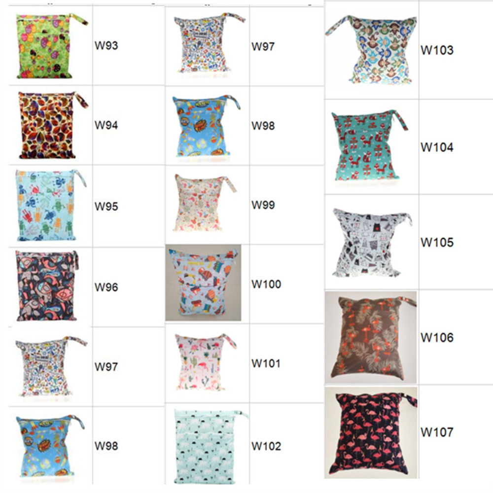 HTB1mWZbbbvpK1RjSZPiq6zmwXXaZ [Sigzagor]1 Wet Dry Bag With Two Zippered Baby Diaper Nappy Bag Waterproof Swimmer Retail Wholesale 36cmx29cm 1000 Choices