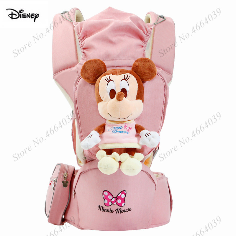 Disney Ergonomic Baby Carriers Backpacks 0 36 months Portable Baby Sling Wrap Infant Newborn kangaroo Carrying Belt for Mom Dad