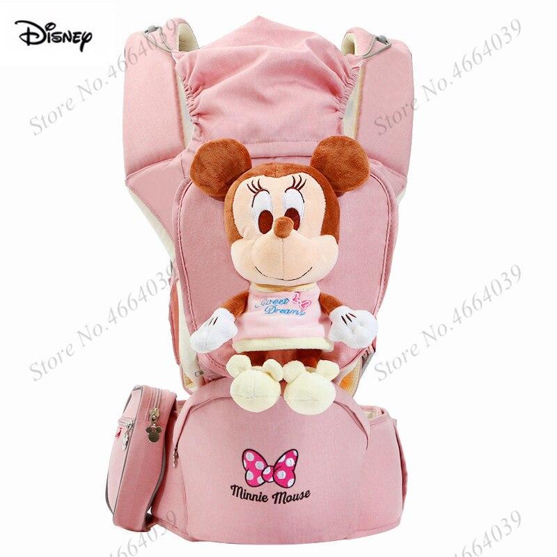 Disney porte-bébé ergonomique sacs à dos 0-36 mois Portable bébé écharpe Wrap infantile nouveau-né kangourou ceinture de transport pour maman papa