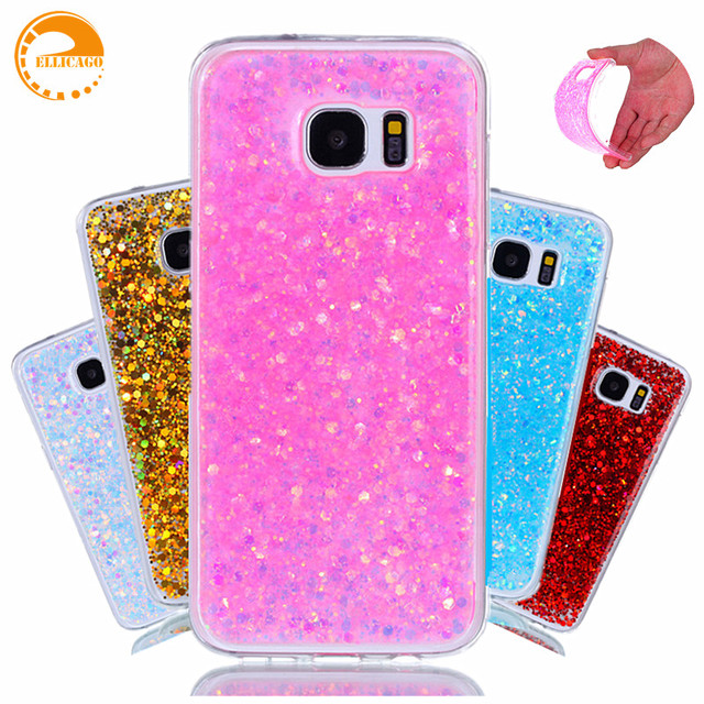 samsung galaxy s7 edge coque paillette