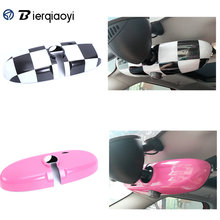 For MINI Cooper R56 R60 R55 R61 Paceman Interior Rearview Mirror Sticker For MINI R60 Countryman Accessories MINI R55 Clubman