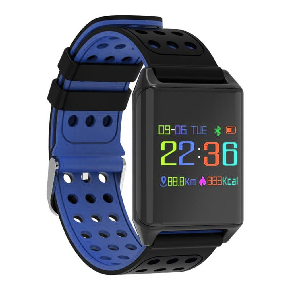 Smart Watch 0.95 inch OLED Color Screen Blood Oxygen Pressure Heart Rate Monitor Pedometer Smart Watch 2016 update gv08 smart watch 15 inch 2mp